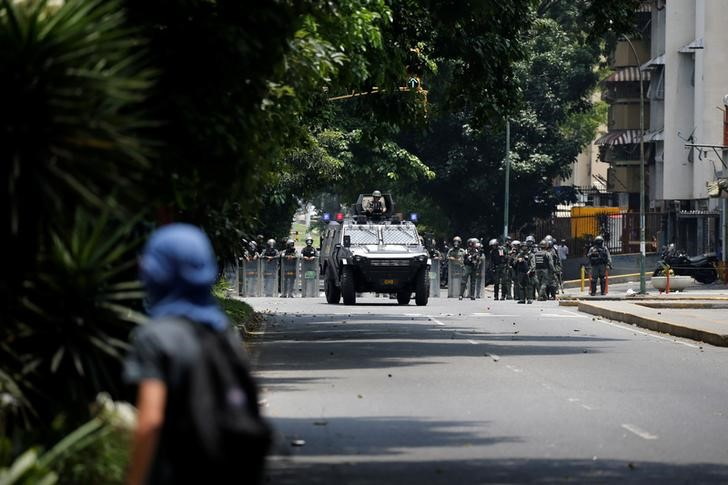 As Venezuela Unrest Grows, Security Forces Struggle to Boost Ranks