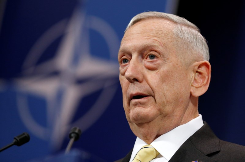 Mattis Says Syria Dispersed Warplanes, Retains Chemical Weapons