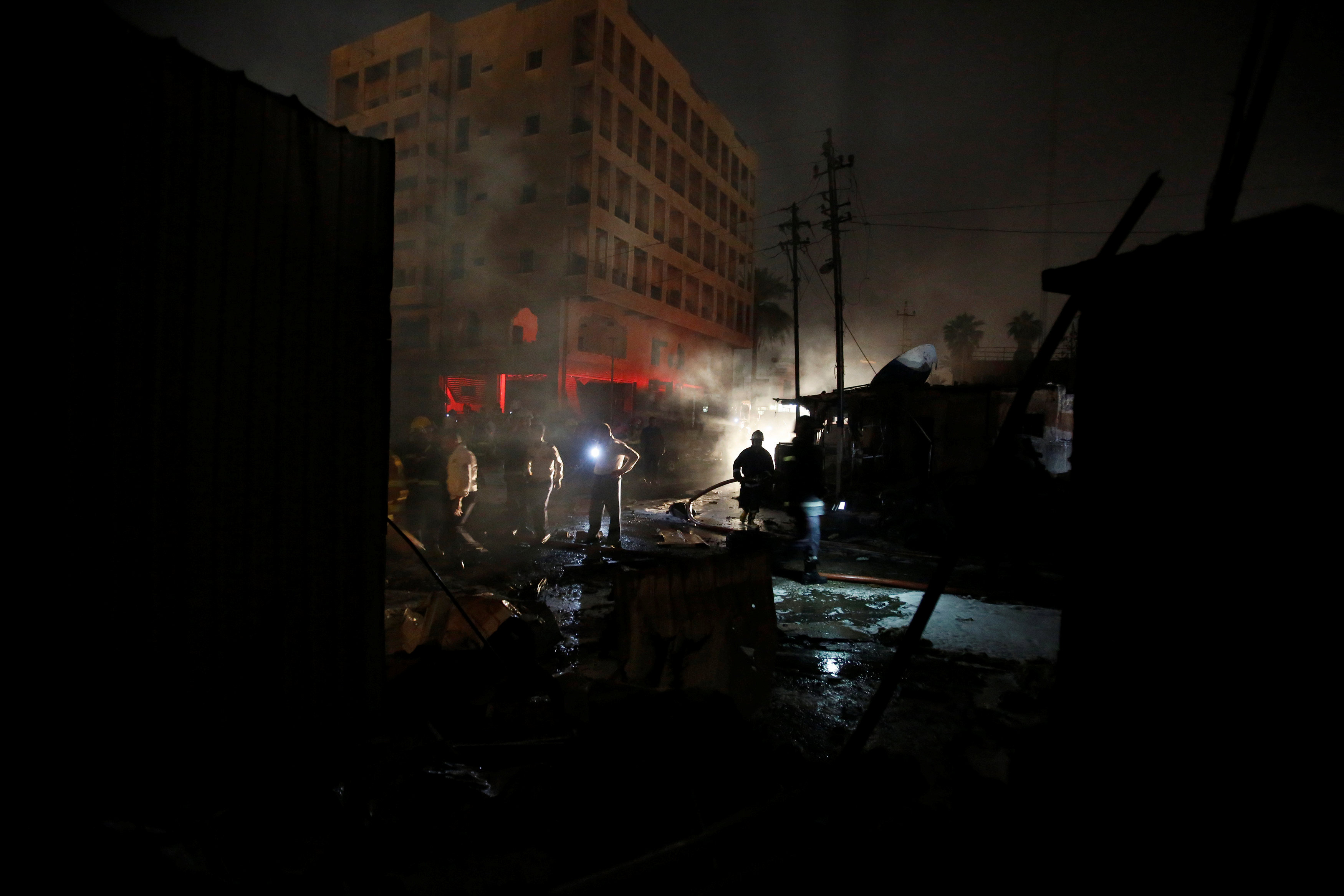 Suicide Attack In Iraq's Sadr City Kills At Least 35, Wounds Dozens -Sources