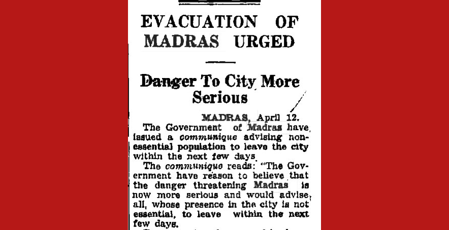 Times of India, April 12, 1942