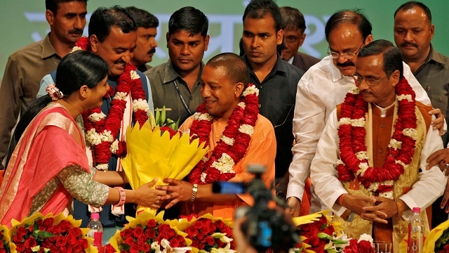 Adityanath. Credit: Reuters/Files