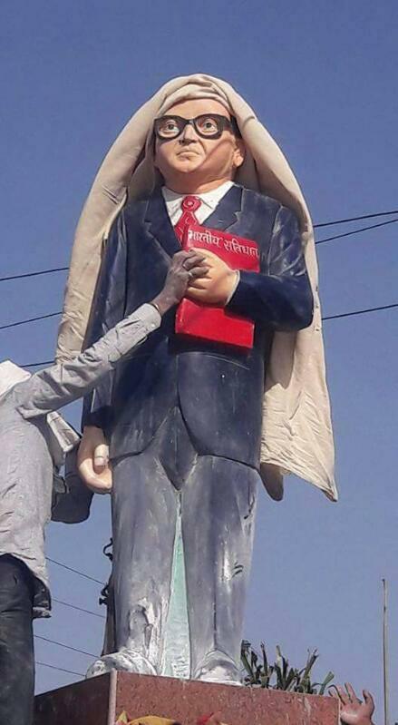 An Ambedkar statue. Courtesy: Navayana