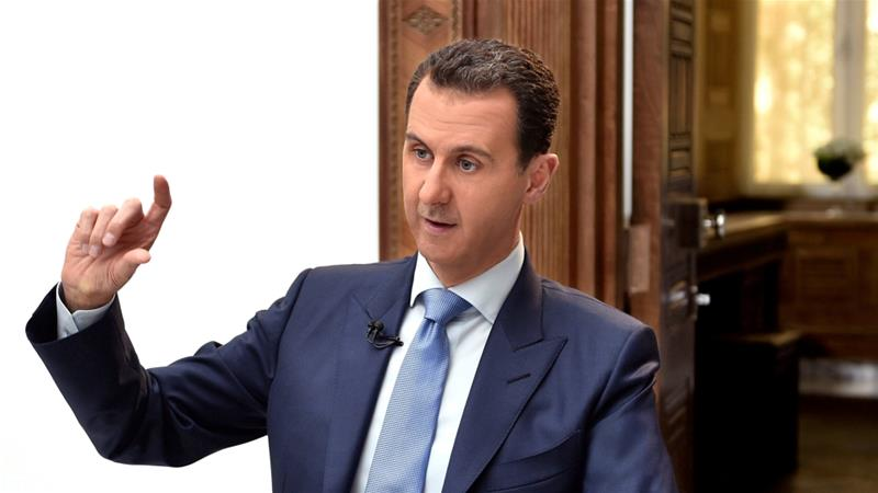 President Bashar al-Assad, who was blamed for the chemical attack earlier this month in Syria that led to the US missile strike. Credit: Reuters