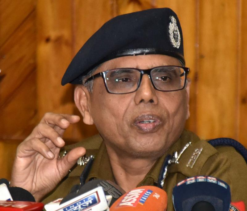 Assam DGP Mukesh Sahay says the arrested IPS officer will be presented in the court on April 7. Credit: PTI