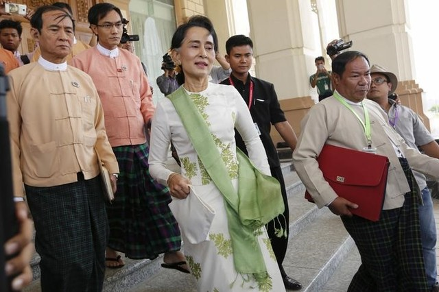 Myanmar Leader Suu Kyi's Party Wins Nearly Half of the Seats in By-Elections