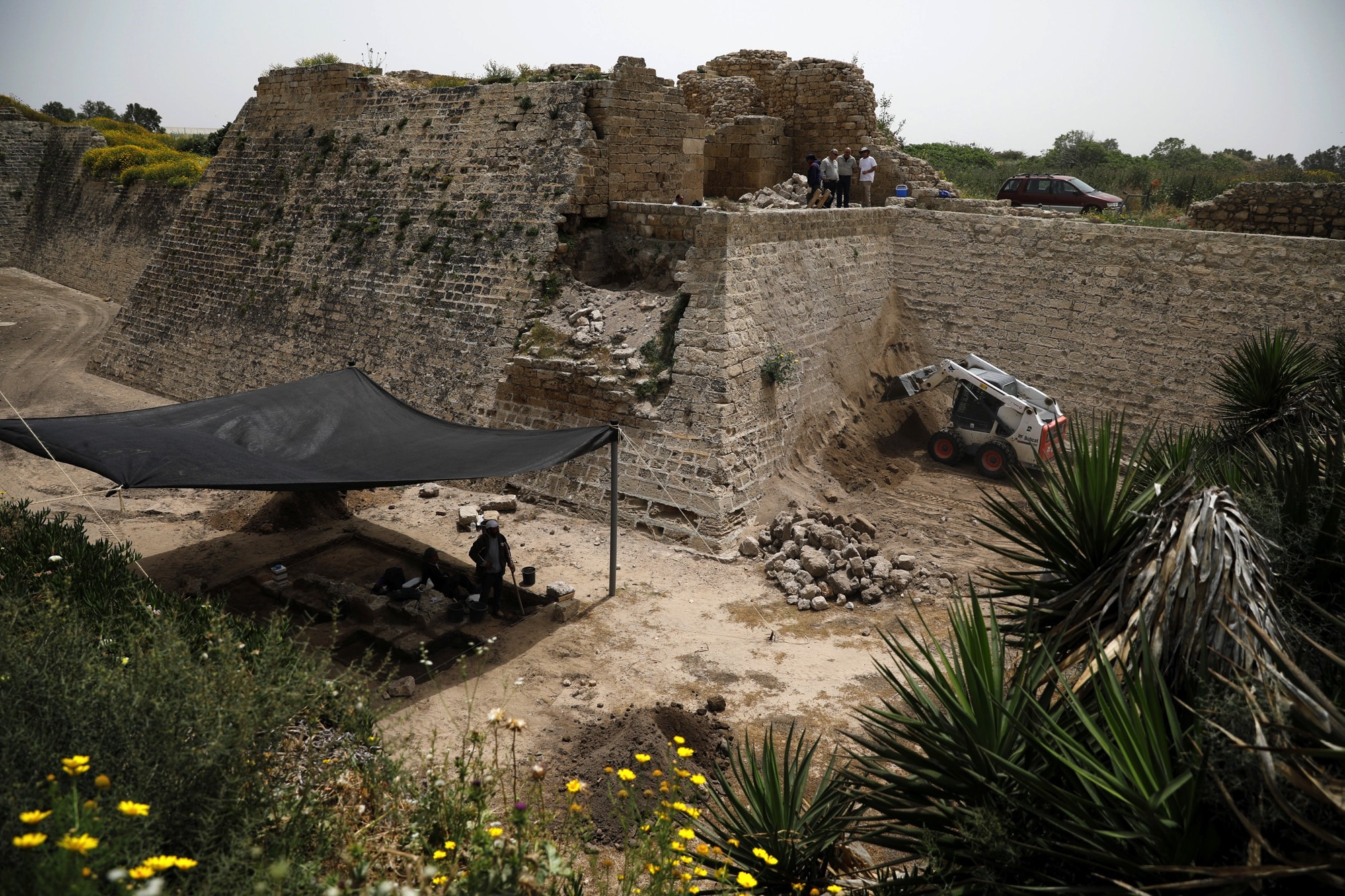 Archaeologists to Rebuild Ancient Roman Temple in Israeli Port