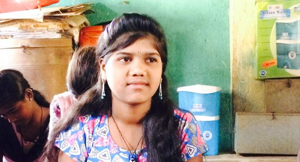 """Sangeeta Yeshwant Chavan wants to join the police force. """"Marriage can wait,"""" she says. Credit: Nidhi Jamwal"""