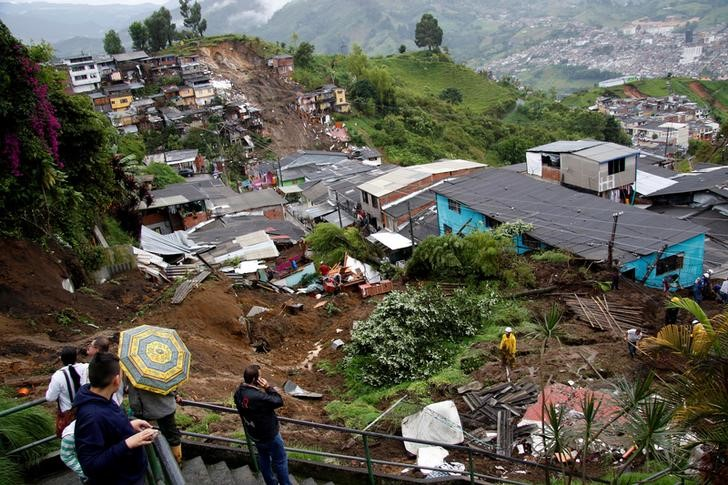 Colombia: Landslide Kills at Least 17 as Heavy Rains Lash Andes