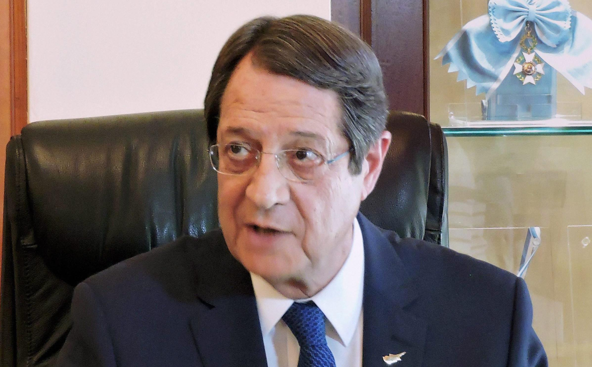 India Can Help in Cyprus Reunification, Says Cypriot President