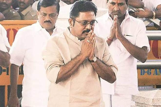 Dinakaran was part of the AIADMK faction led by Sasikala. Credit: PTI