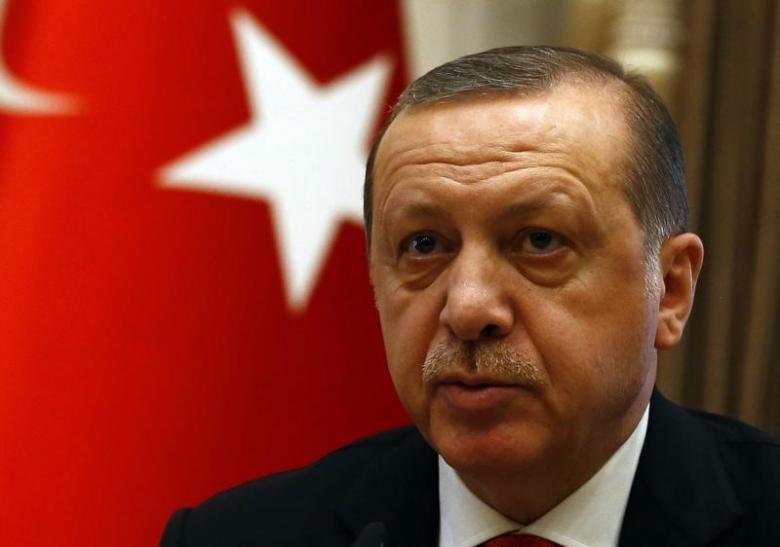 The Turkish President Tayyip Erdogan. Credit: Reuters/Umit Bektas