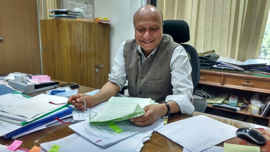 AYUSH ministry secretary Ajit M Sharan. Credit: Anoo Bhuyan