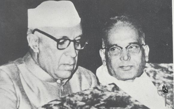 Image result for NEHRU AND JAYAPRAKASH NARAYAN