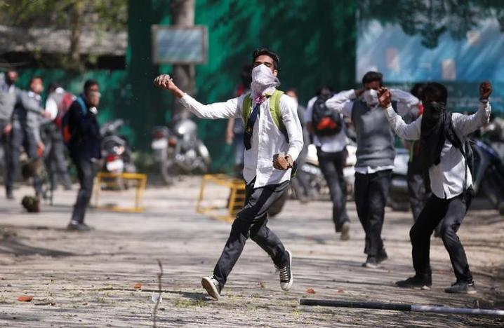 Students stage forceful anti-India demos in Occupied Kashmir