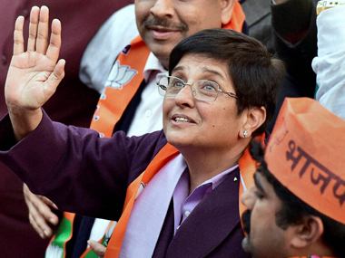 Bedi's tweets have led to speculation about whether her loyalties are shifting. Credit: PTI/Files