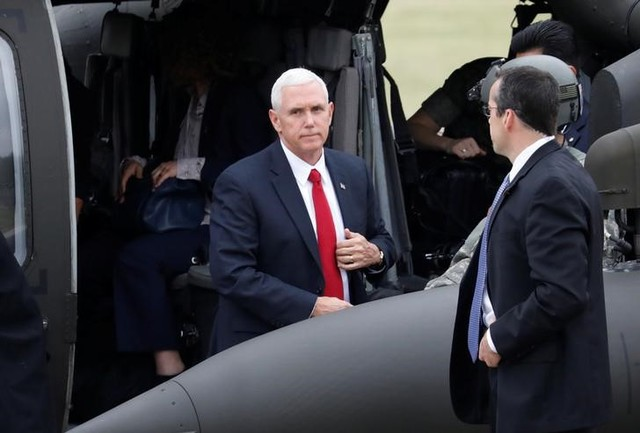 Mike Pence Visits Korean Demilitarised Zone, Says 'Era of Strategic Patience' Over