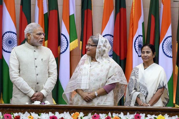 An agreement arrived at in 2011 fell by the wayside over West Bengal's refusal to sign on at the time. Credit: PTI