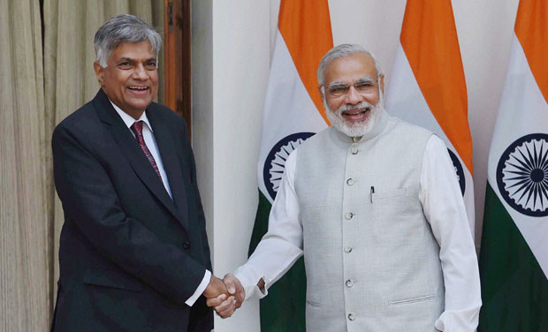 Sri Lankan PM to Visit April-End to Wrap-Up Agenda for Modi's Visit to Colombo