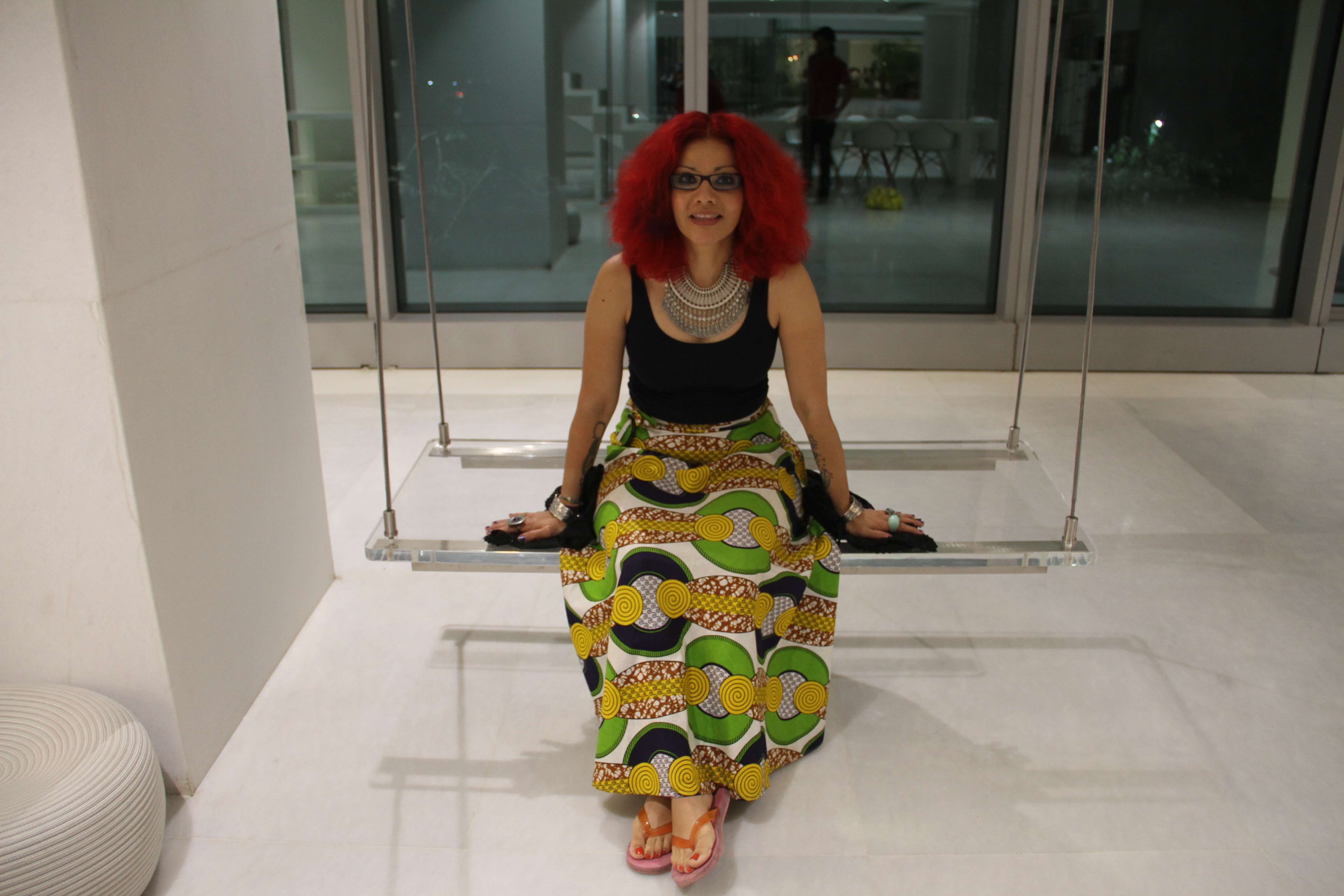 Mona Eltahawy. Credit: Godrej India Culture Lab