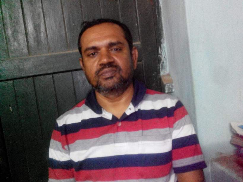 Subodh Biswas, the main accused in the Silapathar case. Credit: Twitter