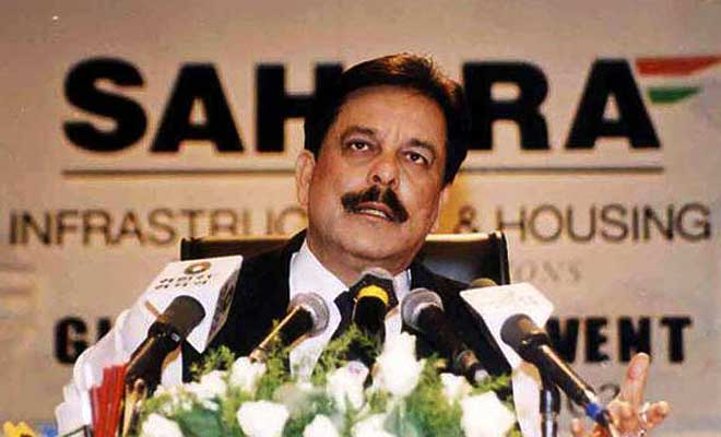Sahara Group chairman Subrata Roy. Credit: PTI