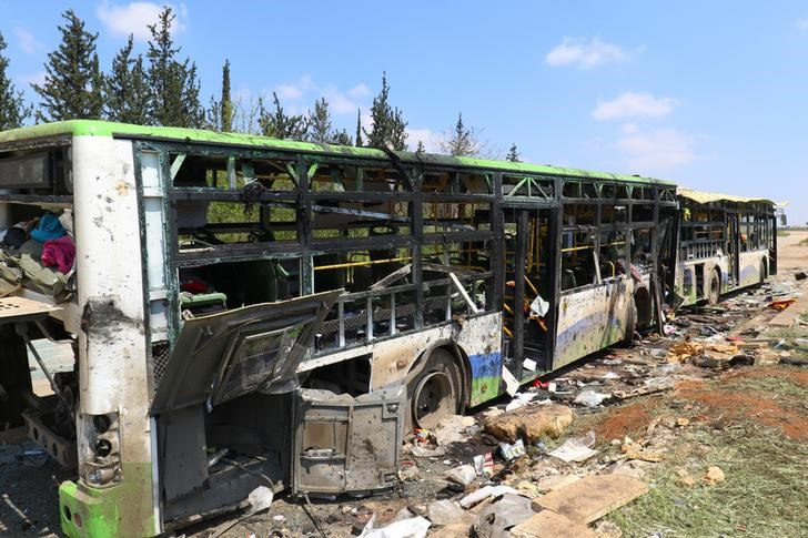Syria: For Evacuees, Bus Bombing a Tragic End to a Tragic Deal