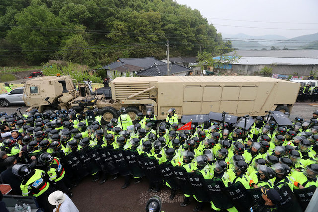 US Moves THAAD Anti-Missile to South Korea, Sparking Protests