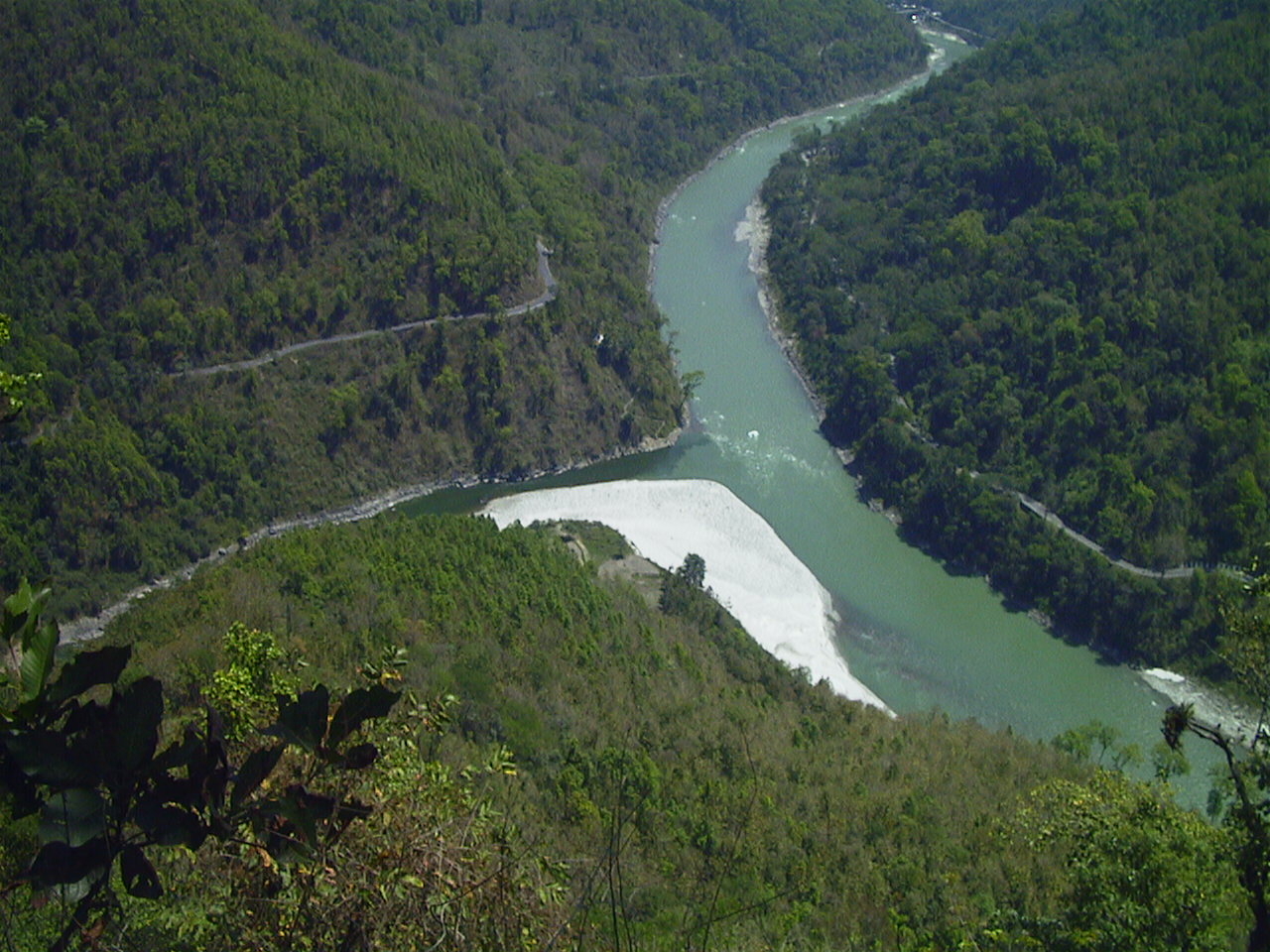 The Teesta river. Credit: Prato9x/Flickr CC BY-NC-ND 2.0