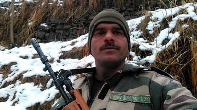Teg Bahadur Yadav. Credit: Video screengrab