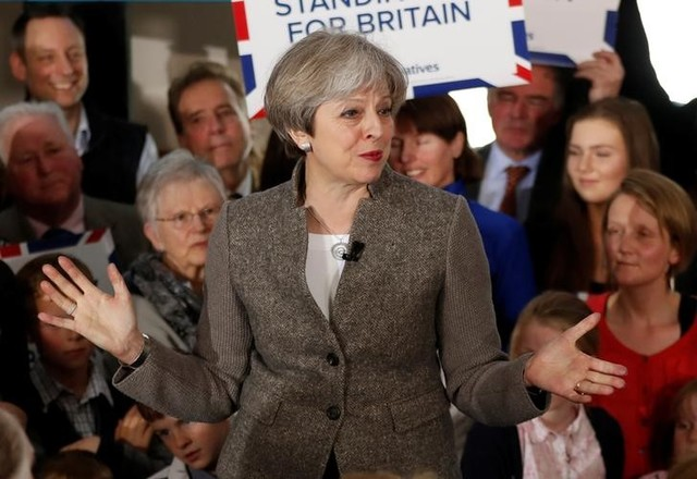 May's Conservatives Still in Lead as Labour Party Gains