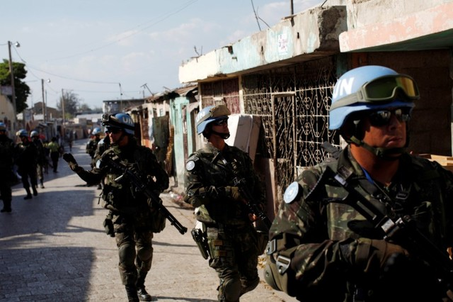 UN Votes to End Haiti Peacekeeping Mission, Replace it With Smaller Police