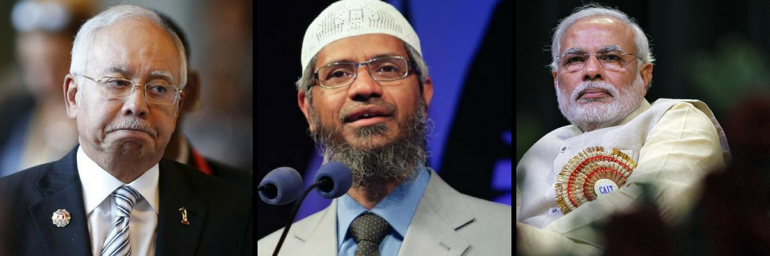 Can India and Malaysia Continue to Be Good Friends With Zakir Naik Lurking in the Background?