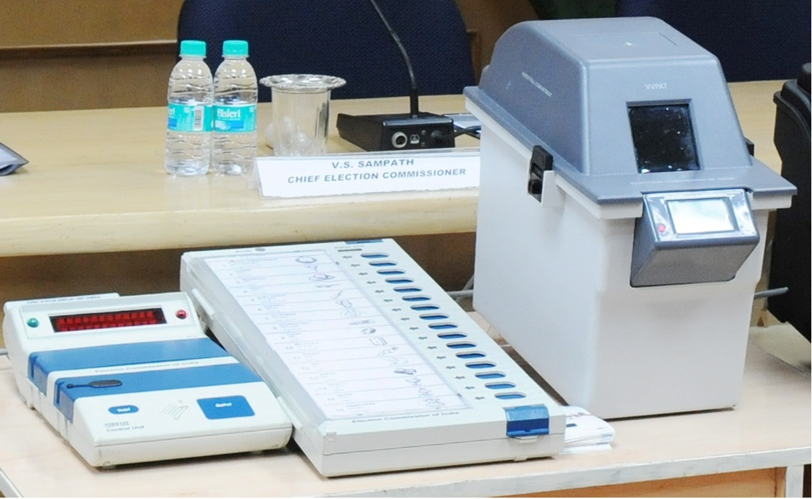 Image result for evm vvpat machine