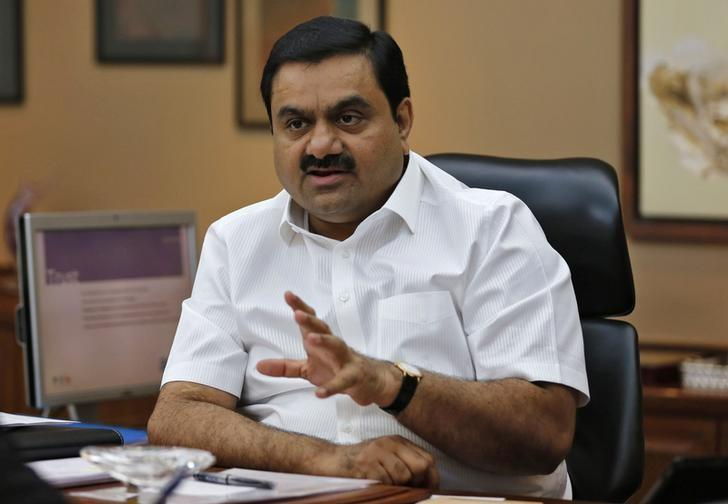 Billionaire Gautam Adani speaks during an interview with Reuters at his office in Ahmedabad April 2, 2014. Credit: Amit Dave/Reuters/Files