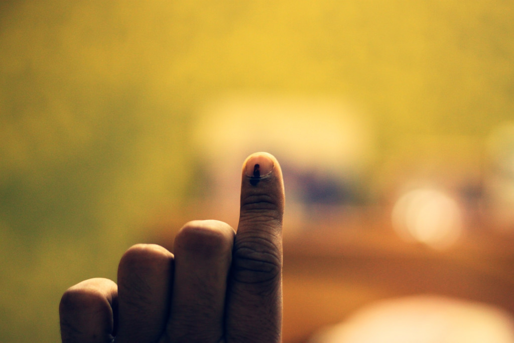The EC is the guardian of the electoral process in India. Credit: Yogesh Mhatre/Flickr:CC BY 2.0