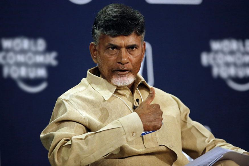 Andhra Pradesh chief minister Chandrababu Naidu. Credit: Reuters/Files