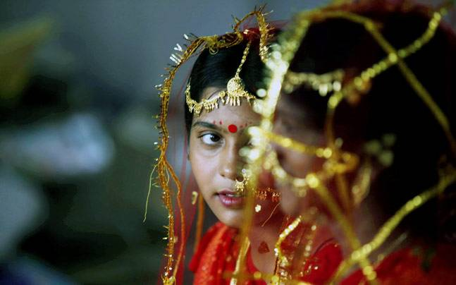 Child marriages are prevalent in many parts of India. Credit: Reuters