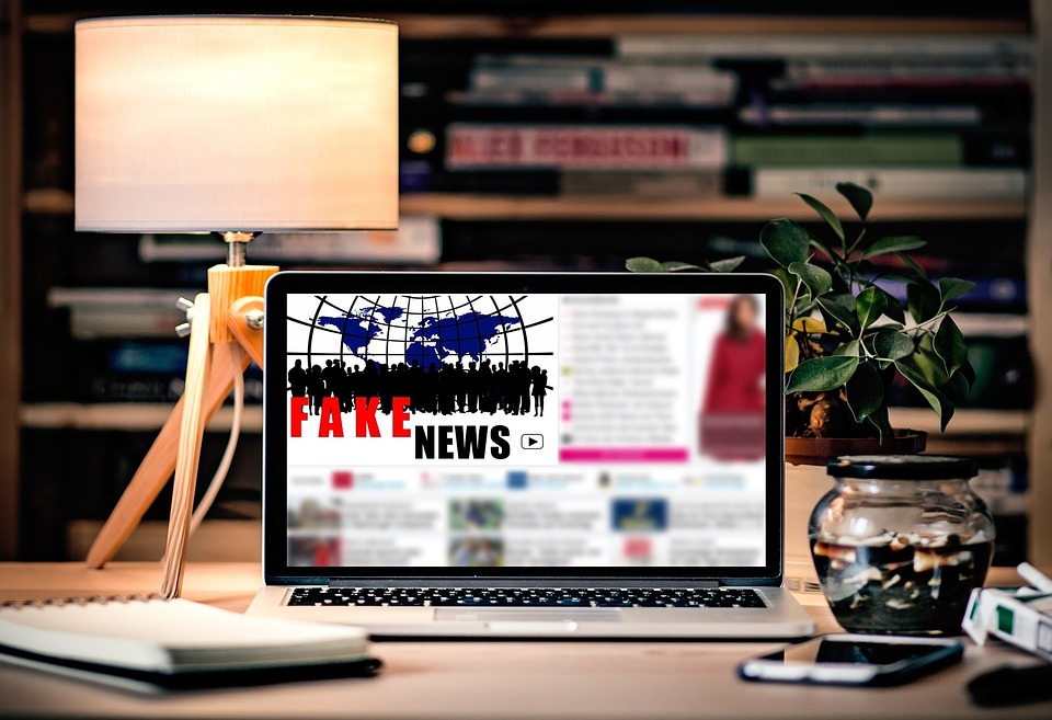 Fake news is proliferating social media throughout the world. Credit: Pixabay