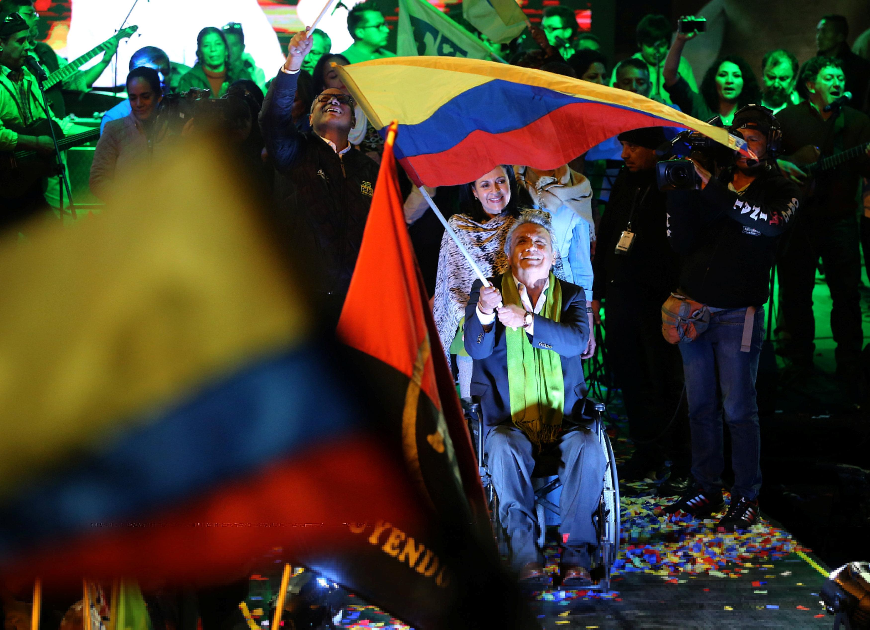 South America's Right-Wing Bulldozer Hits Lenin Roadblock in Ecuador