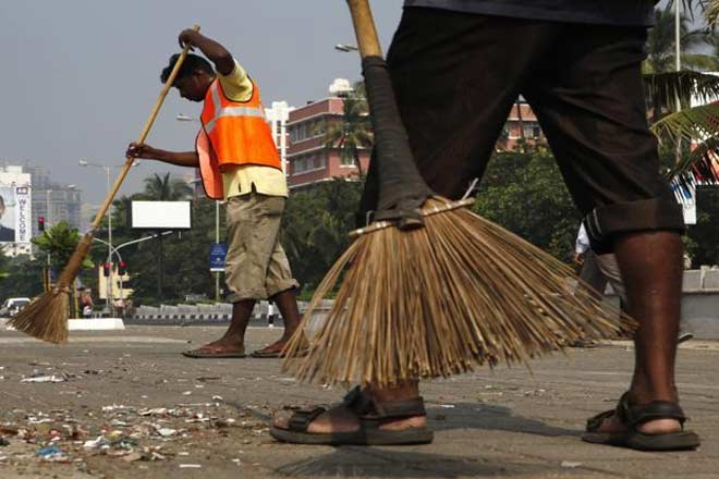 Efforts to address urban sanitation and health will suffer in light of budget cuts. Credit: Reuters/Files