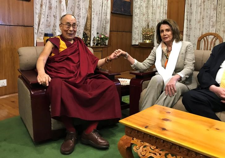 Top US Lawmakers Meet Dalai Lama, Say Won't Back Down on Human Rights in Tibet