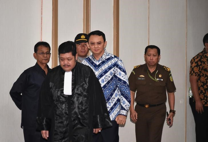 Grim New Life in a Cell for Jakarta's Ex-Governor Purnama