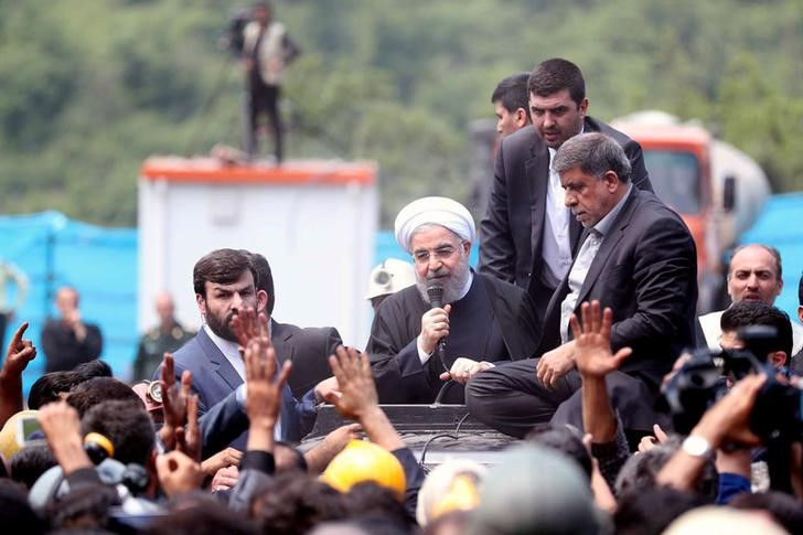 Iran's Rouhani Lashes out at Hardline Rivals in Final Debate Before Vote