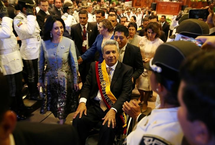 Socialist Lenin Moreno Sworn in as Ecuador President After Tight Race