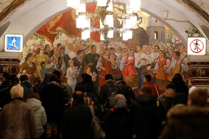 Moscow's Metro Is a Visually Stunning Mix of the Old and New