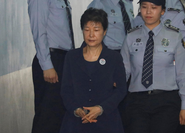 South Korea's Park Abused Power to Gain Bribes, Prosecutor Tells Court
