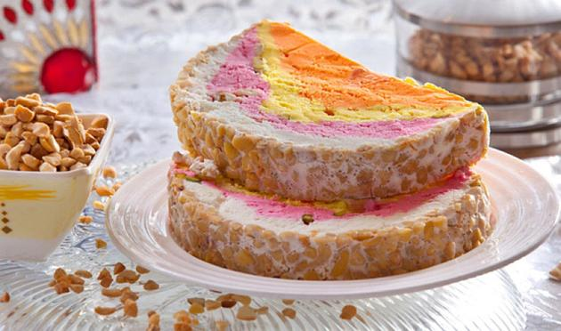 Cassata, the Three-Layered Ice-Cream with Nuts, Tutti Frutti and Lots of Memories