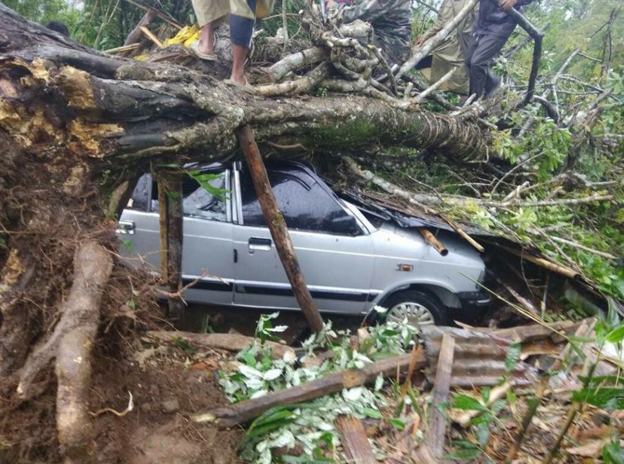 Cyclone Mora Damages Houses, Triggers Landslides in Mizoram