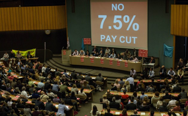 Proposed UN Pay Cuts Threaten Work Stoppage in Geneva