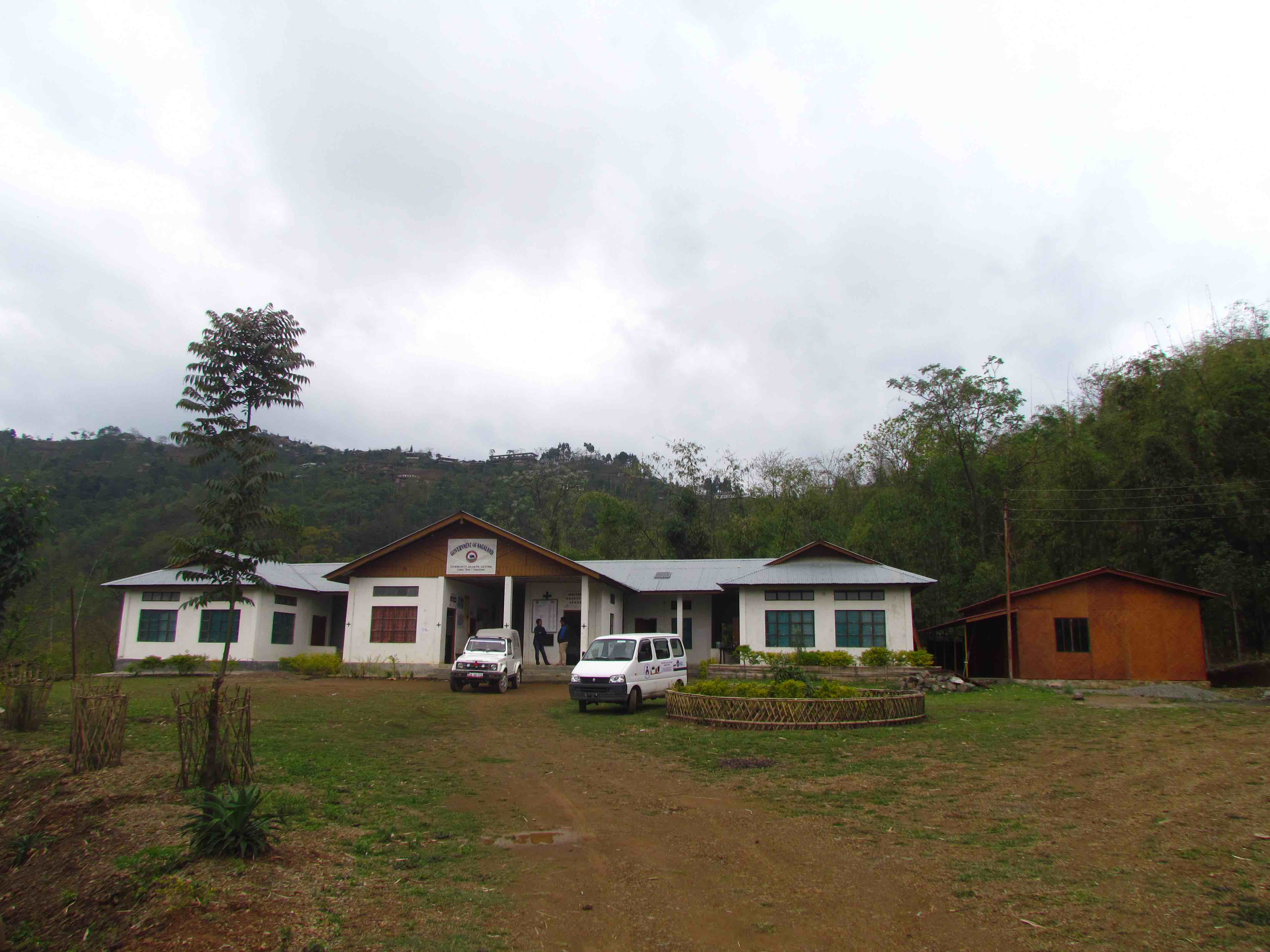 The Community Health Centre in Tobu. It covers the healthcare needs of more than ten villages while being understaffed and receiving insufficient funds. Credit: Sarita Santoshini